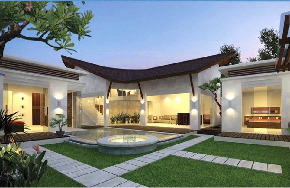 K mea villa villa k mea louer seminyak bali 3 for Case moderne con giardino